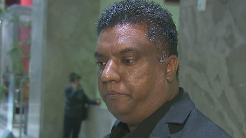 Allan Ali, the husband of a woman accused of murdering her disabled daughter, spoke to CTV Toronto.