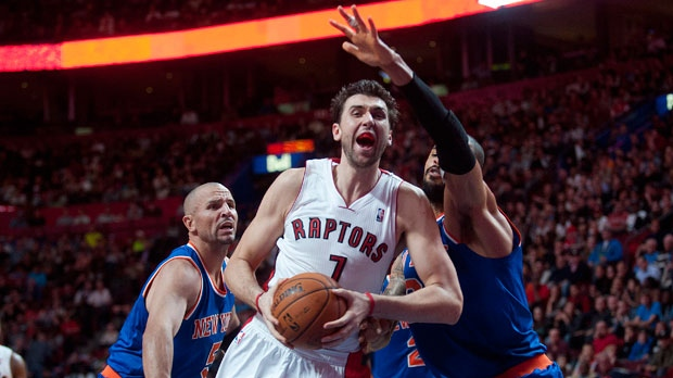 Andrea Bargnani vents to Italian paper