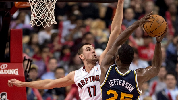 Raptors lose to Utah Jazz