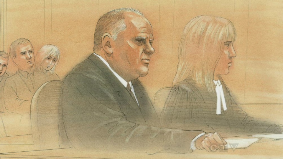 Mayor Rob Ford appeared in court to defend himself in a libel lawsuit.