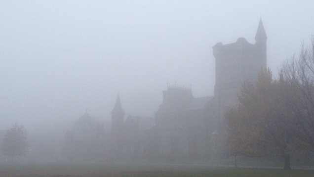Fog in Toronto on Nov. 21, 2012. (George Stamou/CTV Toronto)