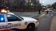 Cyclist struck Toronto