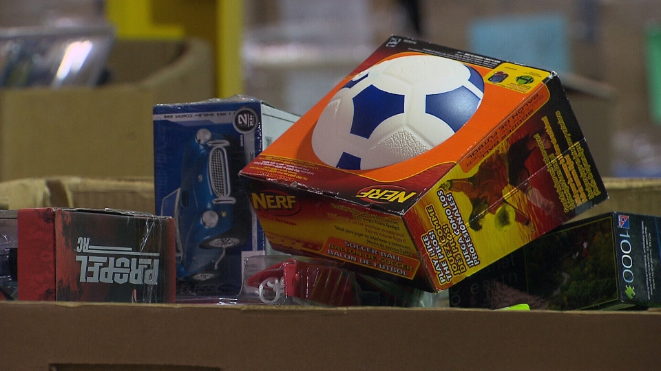 Police have located three truckloads of stolen Salvation Army toys.