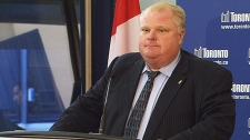 Rob Ford speaks aftering being ousted