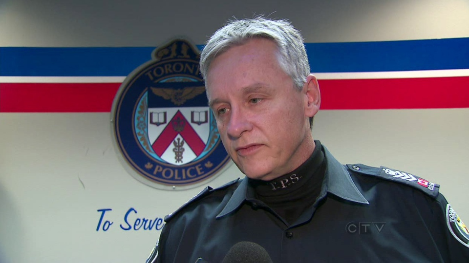 Staff Sgt. Ken Boyle speaks to the media in Toronto on Dec. 1, 2012.