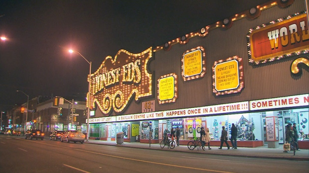 Honest Ed's free turkeys