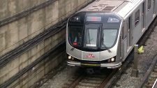 New TTC subway train