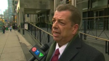 ETFO President Sam Hammond on Dec. 4, 2012.