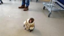 Monkey appears in Ikea