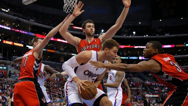 Clippers beat Raptors to 6th straigh win