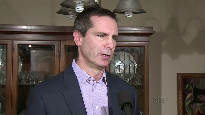 Dalton McGuinty speaks in Toronto on Dec. 11, 2012.