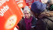 Ontario teachers walk out