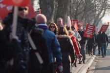 Ontario teachers protest