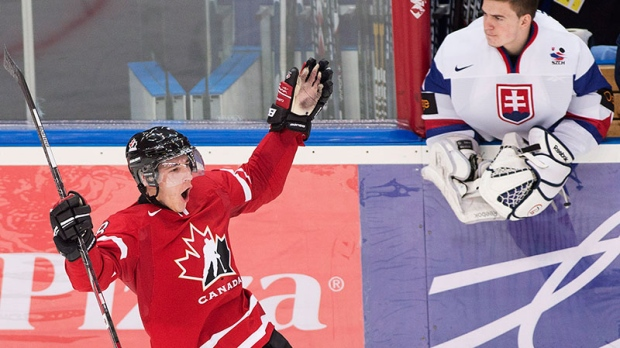 Canada beats Slovakia World Juniors