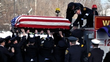 Webster, N.Y. firefighter funeral
