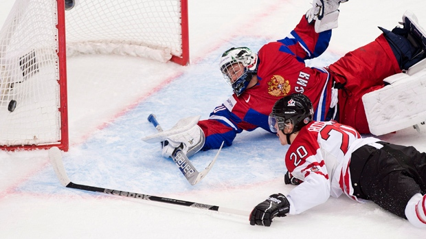 Canada Russia world junior hockey championship