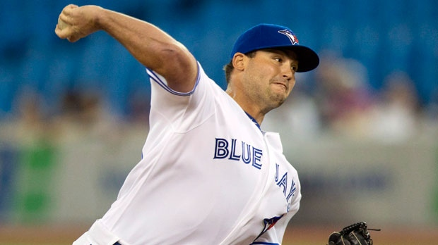 Toronto Blue Jays pitcher Chad Beck