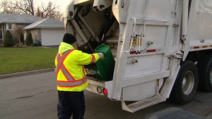 CTV Toronto: City hails privatized garbage pick-up