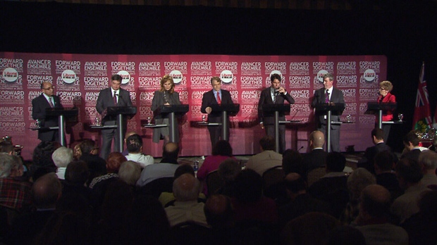 Liberal leadership debate