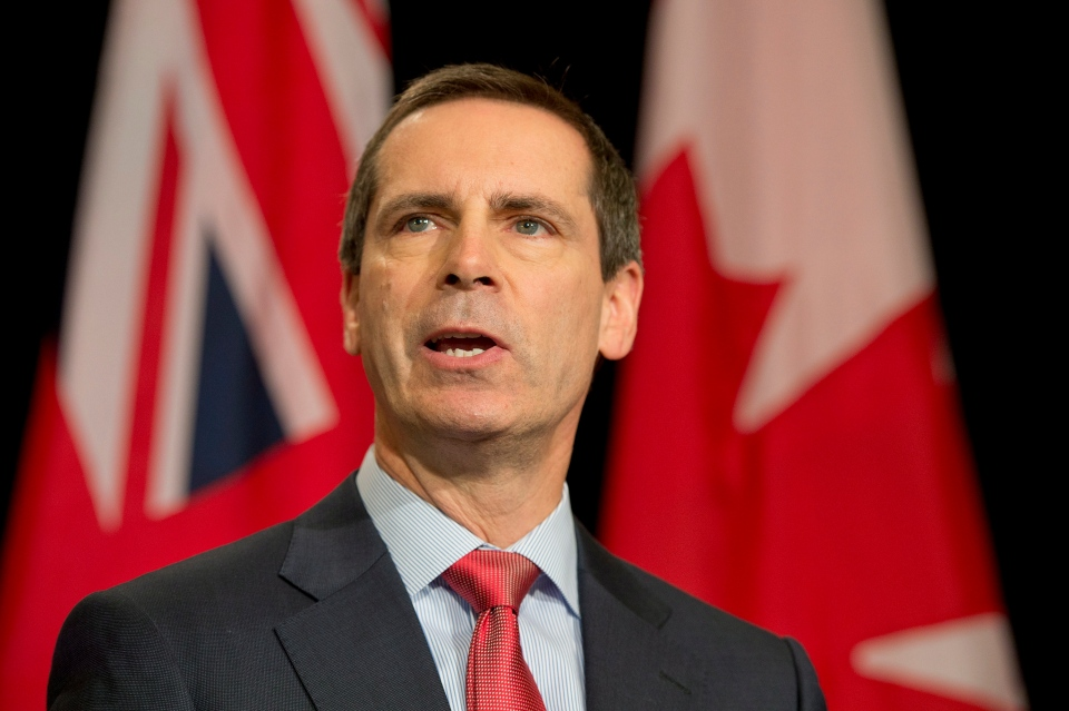 Ontario Premier Dalton McGuinty speaks to reporters in Toronto on Friday, Jan. 11, 2013. (Frank Gunn / THE CANADIAN PRESS)