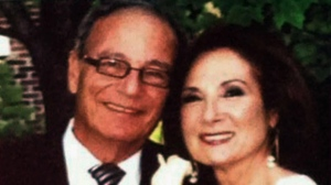David Pichosky and wife Rochelle Wise are pictured in a handout photo.