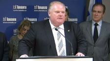 Toronto budget Rob Ford