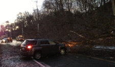 Strong winds cause power outages