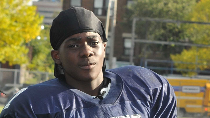 Tyson Bailey died after he was shot in a downtown Toronto apartment building on Friday, Jan. 11, 2013.