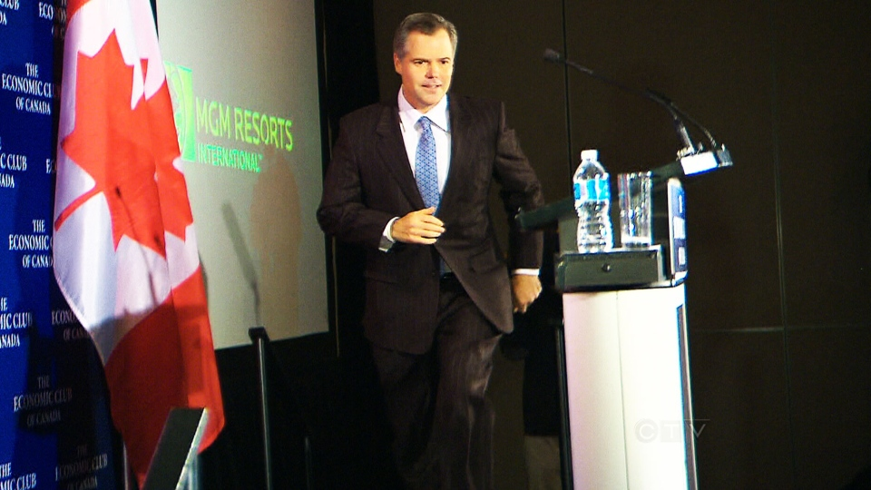 MGM Resorts CEO Jim Murren presented the proposed project in front of a full house at the Economic Club of Canada Tuesday, Jam. 22, 2013.