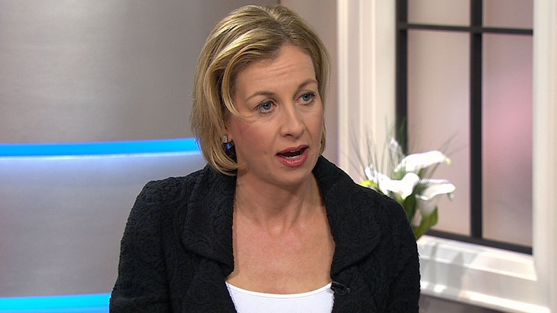 TTC chair Karen Stintz speaks on Canada AM about the stroller complaint, Wednesday, Jan. 23, 2013.