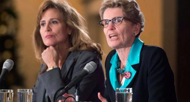Sandra Pupatello, Kathleen Wynne, woman, premier