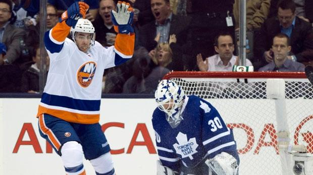 Toronto Maple Leafs goaltender Ben Scrivens