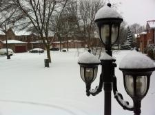 rain, freezing snow hit Toronto GTA Ontario