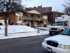 Male charged in North York homicide