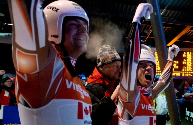 Canada takes luge Silver at World Championships