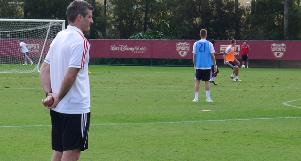 Ryan nelsen, toronto fc, training camp, coach