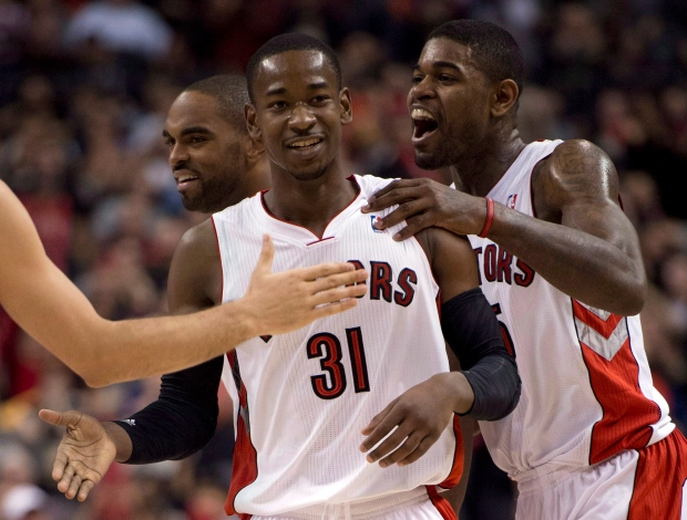 Toronto Raptors guard Terrence Ross