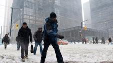Snow Toronto residents