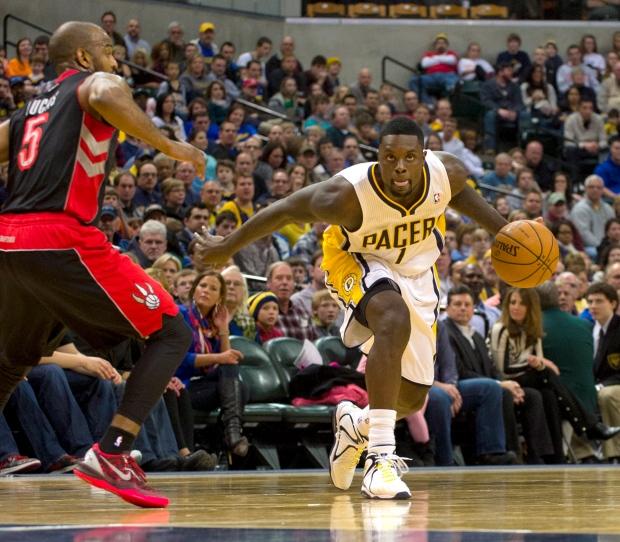 Toronto Raptors point guard John Lucas