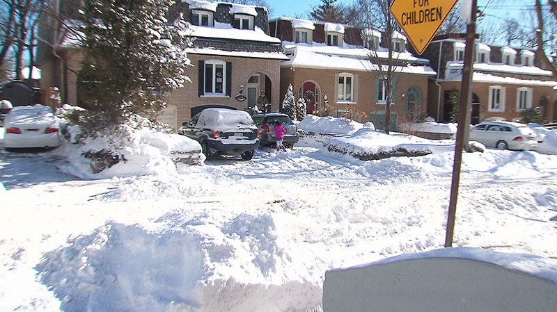 The cleanup from the biggest winter storm to hit the city in more than five years will cost about $4 million and last well into the evening, one official tells CP24.