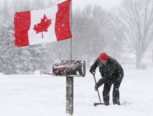 Two people die while shovelling snow in Ontario