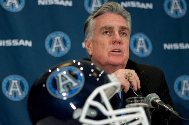 Toronto Argonauts Jim Barker contract extension