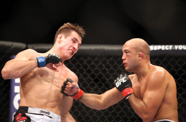 Rory MacDonald pulls out of UFC 158 injury