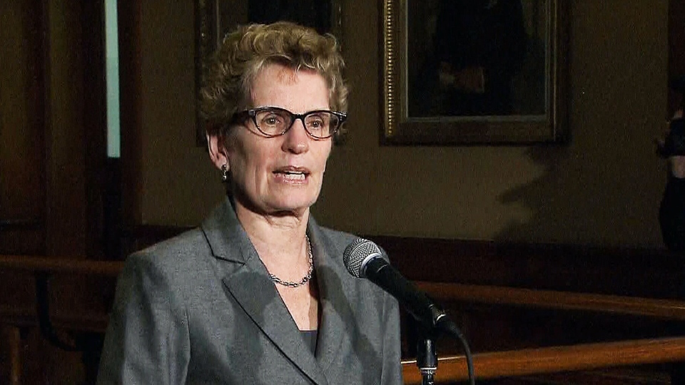 Premier Kathleen Wynne stressed her desire to work with the opposition again on Wednesday, Feb. 20, 2013.