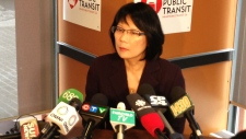 Olivia Chow announces details of new transit