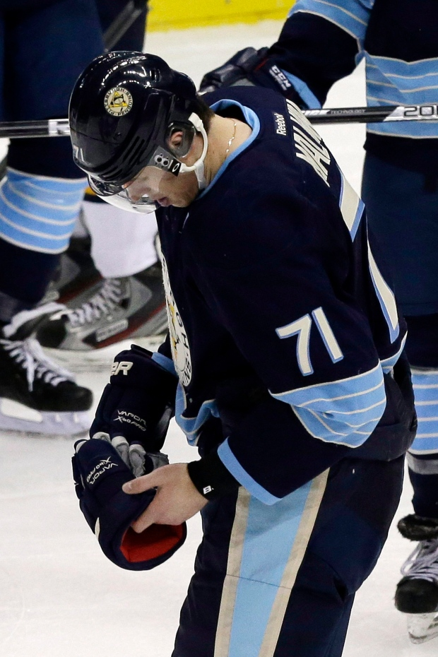 Penguins place Malkin injured reserve concussion