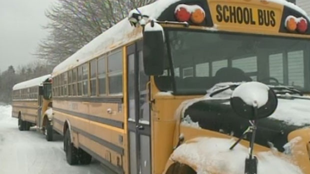 Bus Cancellations: School Bus Cancellations Today North Of The GTA