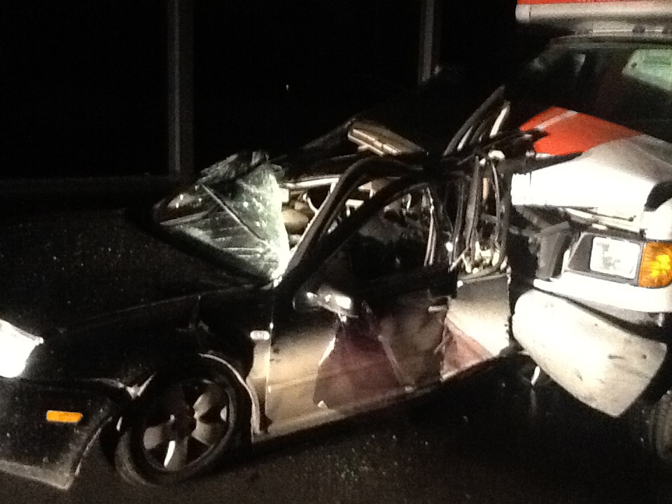 A 17 month old child was killed and her mother critically injured early Saturday evening when their Volkswagen Jetta was hit by a cube van on Highways 7 and 8 (at Hallman Rd.)