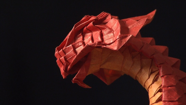 Vancouver-based artist Joseph Wu creates intricate origami for a living, and also as a way to help him battle depression. (CTV)