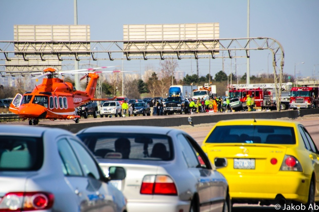 401 rollover ornge air ambulance